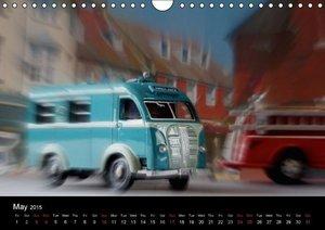 British Vintage Model Cars / UK-Version (Wall Calendar 2015 DIN