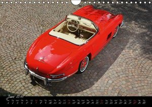 The Legend: 300 SL Roadster (Wall Calendar 2015 DIN A4 Landscape