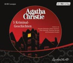 Christie, A: Fünf Kriminal-Geschichten/15 CDs