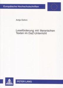 Leseförderung mit literarischen Texten im DaZ-Unterricht