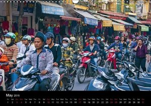 Indochina (UK-Version) (Wall Calendar 2015 DIN A3 Landscape)