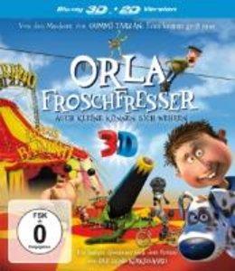 Orla Froschfresser: Auch Kleine können sich wehren 3D + 2D-Versi