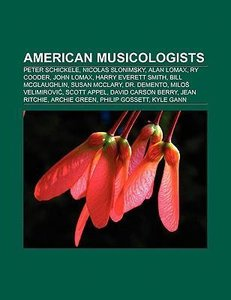 American musicologists