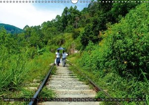 A journey through Sri Lanka (Wall Calendar 2015 DIN A3 Landscape
