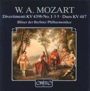 Divertimenti KV 439b 1,3,5/Zwölf Duos KV 487