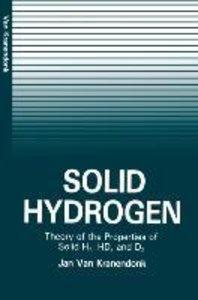 Solid Hydrogen