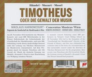 Händel/Mozart/Mosel: Timotheus oder die Gewalt der