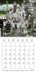 Indonesia - Indian Art (Wall Calendar 2015 300 × 300 mm Square)