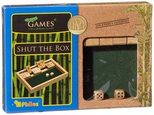 Philos 3270 - Shut The Box 9er, Bambus
