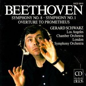 Sinfonien 1+8/Ouv.Prometheus