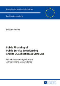 Public Financing of Public Service Broadcasting and its Qualific