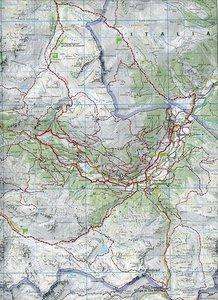 KuF Schweiz Wanderkarte 14 Unterengadin 1 : 60 000