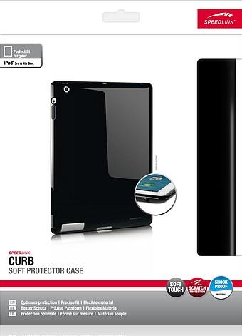 Speedlink SL-7152-BK CURB Soft Protector Case, Schutzhülle für A - zum Schließen ins Bild klicken