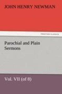 Parochial and Plain Sermons, Vol. VII (of 8)