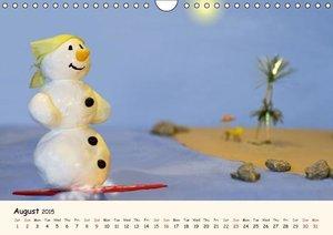 Snowman of the Month 2015 (Wall Calendar 2015 DIN A4 Landscape)