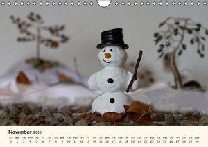 Snowman of the Month 2015 (Wall Calendar 2015 DIN A4 Landscape)