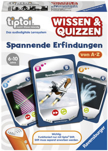Ravensburger 00750 - tiptoi® Wissen & Quizzen: Spannende Erfindu