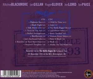 Live In Birmingham 1993