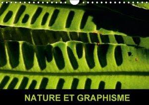 Nature et graphisme (Calendrier mural 2015 DIN A4 horizontal)