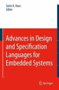 Advances in Design and Specification Languages for Embedded Syst