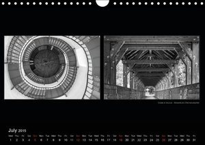 Contrasts - more than Black and White (Wall Calendar 2015 DIN A4