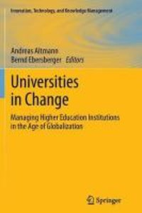 Universities in Change
