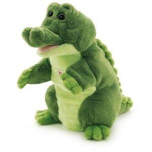 Trudi 29918 - Handpuppe Krokodil, 25 cm