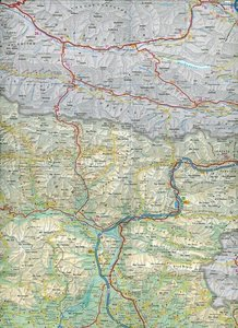 Italy North East Travel Map 1 : 250 000