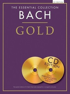 Bach Gold Essential Collection Piano Book