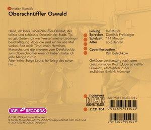 Oberschnüffler Oswald. 2 CDs