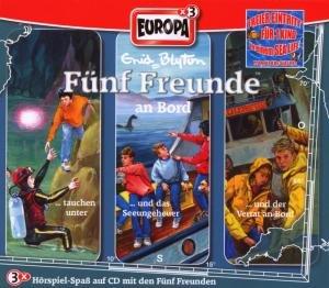 Fünf Freunde Box 10. An Bord
