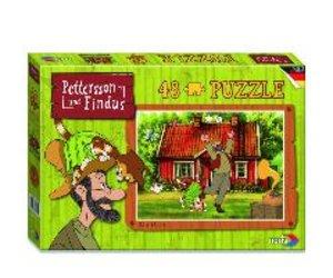 Pettersson Findus 48tlg. Puzzle Tanzen