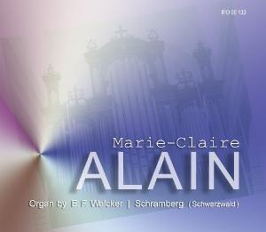 M.-C.Alain auf der Walcker-Orgel Schramberg