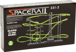 Spacerail 501930 Kugelbahn, Kugel Achterbahn, Glow in the Dark,