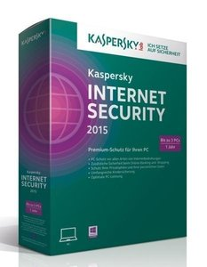 Kaspersky Internet Security 2015 3 Lizenzen