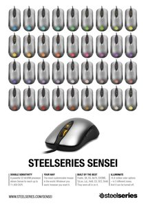 SteelSeries Gaming Maus Sensei