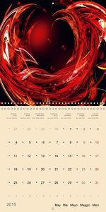 Heart to Heart - Love & Emotions (Wall Calendar 2015 300 × 300 m