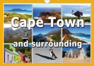 Cape Town and surrounding (Wall Calendar 2015 DIN A4 Landscape)