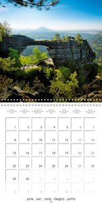 The beautiful Czech Republic (Wall Calendar 2015 300 × 300 mm Sq
