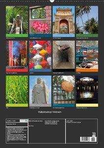 Kaleidoskop Vietnam (Wandkalender 2016 DIN A2 hoch)