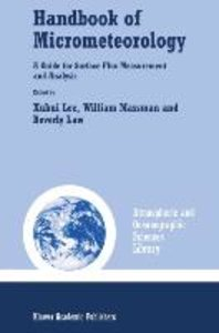 Handbook of Micrometeorology