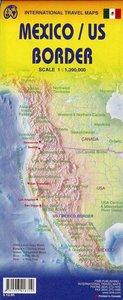 US Mexico Border 1 : 390 000