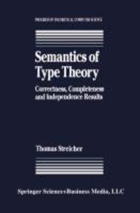 Semantics of Type Theory