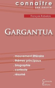 Fiche de lecture Gargantua de François Rabelais (complète)