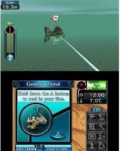 Super Black Bass. Nintendo 3DS