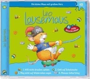 Leo Lausemaus 10 ...will nicht draußen sein / ...geht auf Schatz