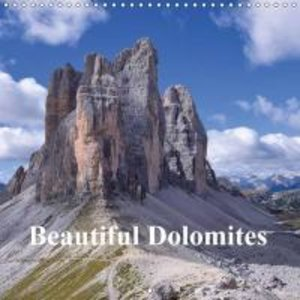Beautiful Dolomites (Wall Calendar 2015 300 × 300 mm Square)