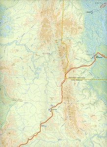 Yukon Territory Travel Map