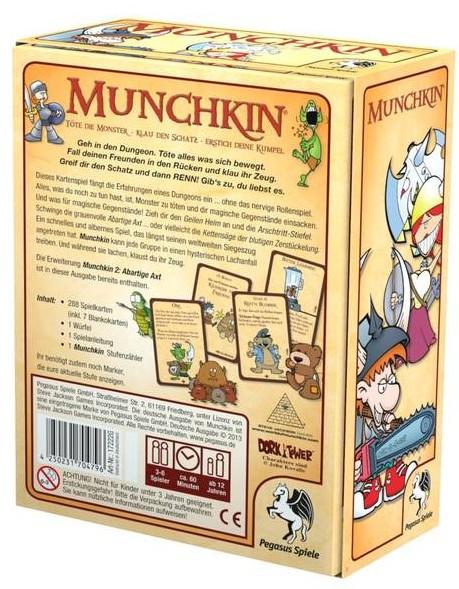 Munchkin 1+2 - zum Schließen ins Bild klicken