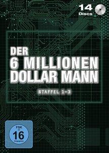 Der sechs Millionen Dollar-Mann Komplettbox (Stackpak)
